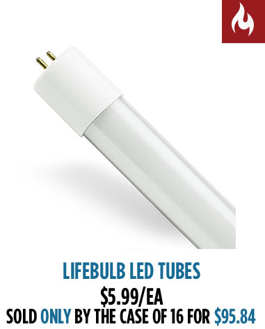 LifeBulb LED Tubes
