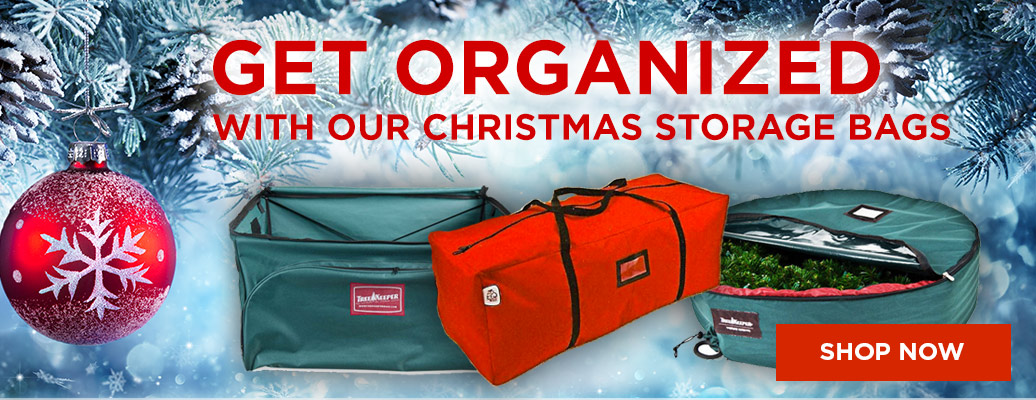 Get Organized with our Christmas storage
