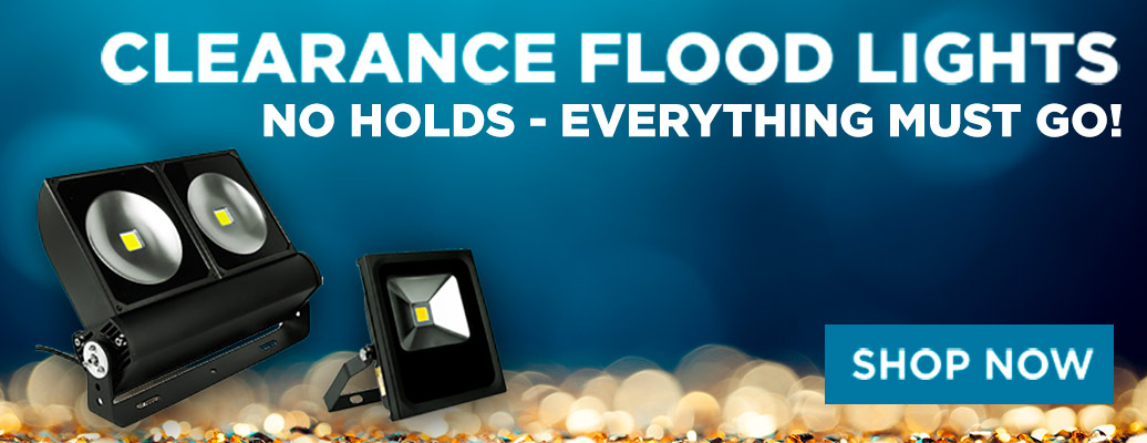 Clearance Flood Lights