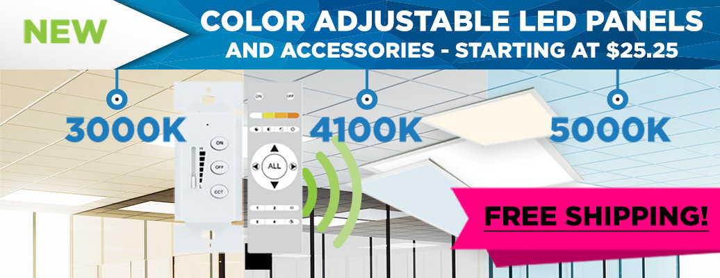 Color Adjustable LED Panels