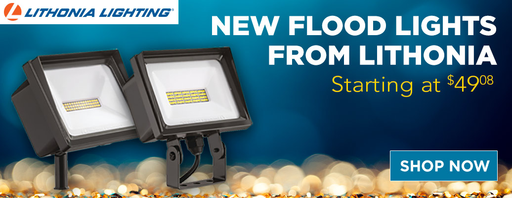 New Flood Lights From Lithonia, Starting at $49.08