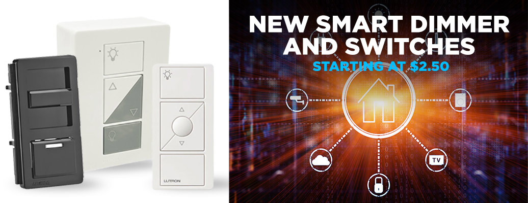 New Smart Dimmer and Switches