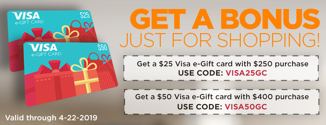 Visa Gift Card with Qualifying Purchase