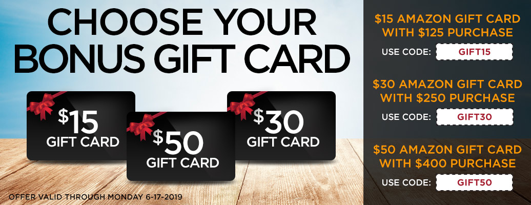 Amazon Gift Card with Qualifying Purchase