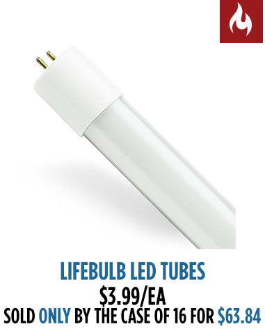 LED Tube Scab