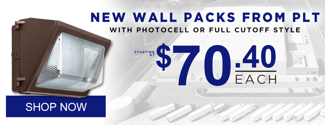 NEW Wall Packs from PLT