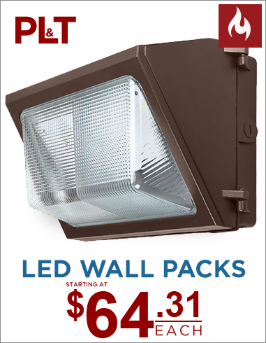 LED Wall Pack Flash Banner