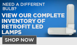 LED PL Retrofit Lamps