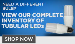 Tubular LED Light Bulbs